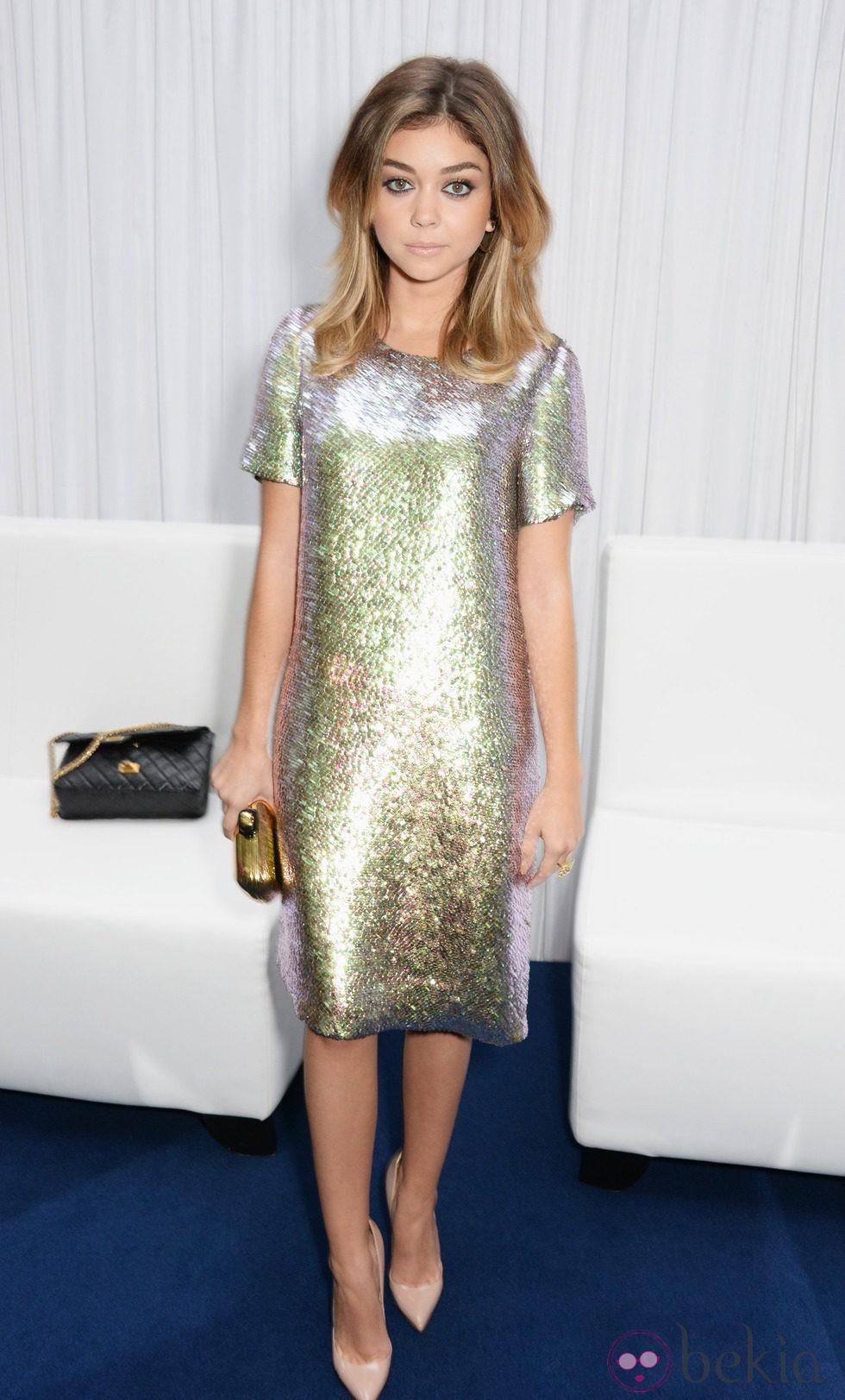 Sarah Hyland en los Premios Glamour Mujeres del Año 2014 de Londres