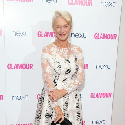 Helen Mirren en los Premios Glamour Mujeres del Año 2014 de Londres