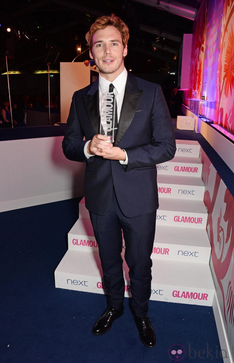 Sam Claflin en los Premios Glamour Mujeres del Año 2014 de Londres