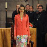 La Princesa Letizia en la entrega del Premio Príncipe de Viana 2014