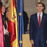 El Príncipe Felipe en la entrega del Premio Príncipe de Viana 2014