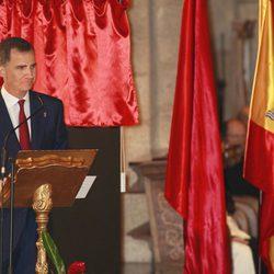 El Príncipe Felipe da su primer discurso tras conocerse que será proclamado Rey de España