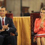 Los Príncipes Felipe y Letizia entregan el Premio Príncipe de Viana por última vez antes de ser Reyes
