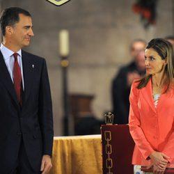 Los Príncipes Felipe y Letizia reaparecen juntos tras la abdicación del Rey Juan Carlos