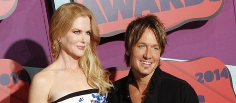 Nicole Kidman y Keith Urban en los CMT Music Awards 2014