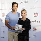 Fernando Verdasco acompaña a Elsa Pataky en la presentación de su libro