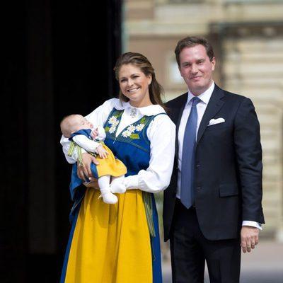 Leonor de Suecia abre el Palacio Real por primera vez con Magdalena de Suecia y Chris O'Neill