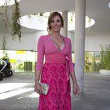 Raquel Rodríguez en la boda de Elisabeth Reyes y Sergio Sánchez
