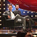 Matthew McConaughey y Keanu Reeves en los premios Guys Choice 2014