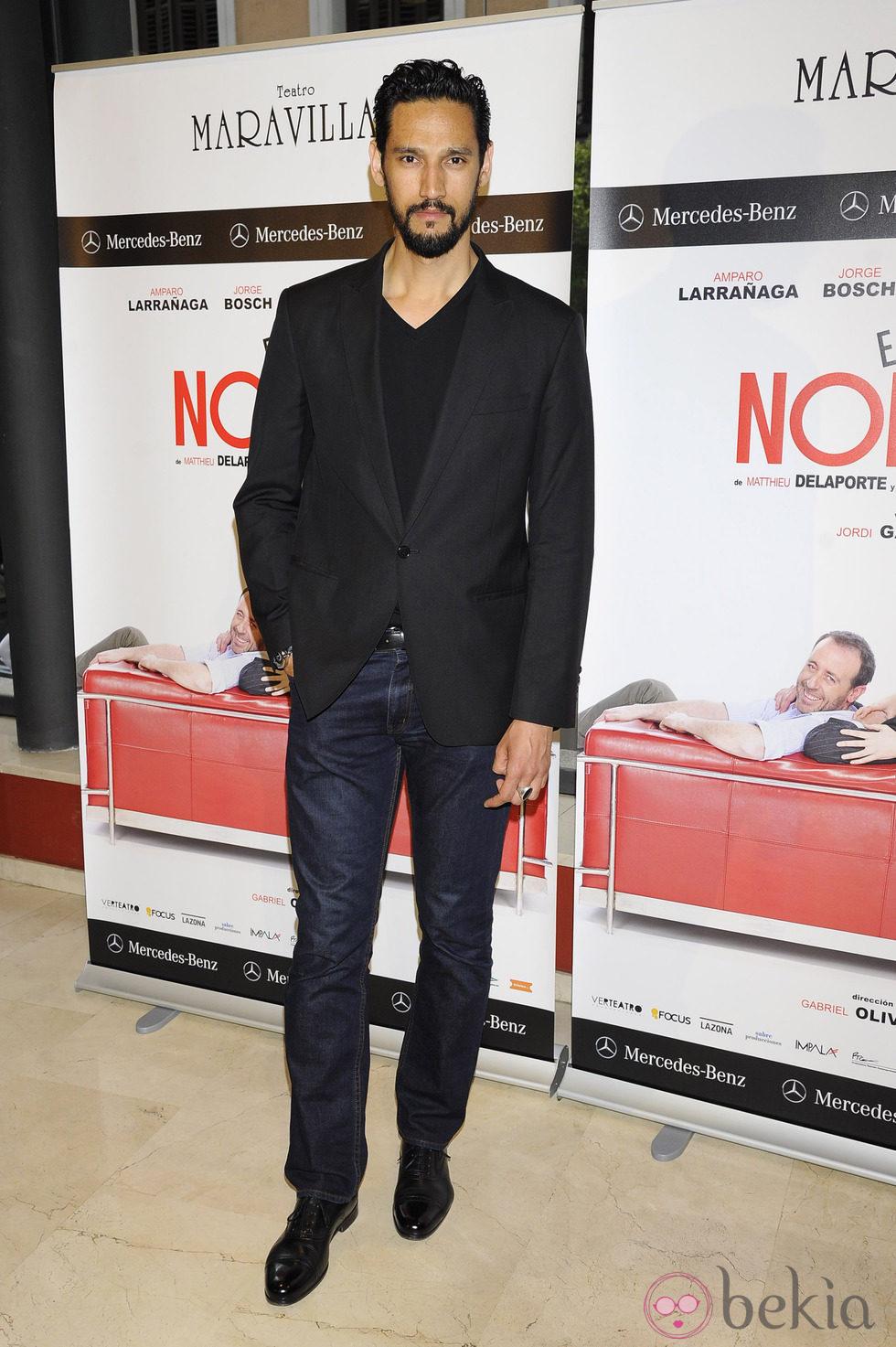 Stany Coppet en el estreno de la obra de teatro 'El Nombre'