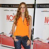 María Castro en el estreno de la obra de teatro 'El Nombre'