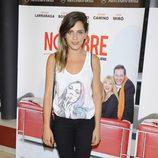 María León en el estreno de la obra de teatro 'El Nombre'