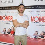 Macaco en el estreno de la obra de teatro 'El Nombre'