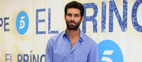 Rubén Cortada en la presentación del rodaje de la segunda temporada de 'El Príncipe'