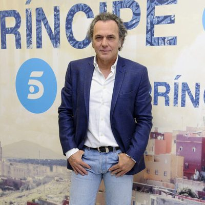 José Coronado en la presentación del rodaje de la segunda temporada de 'El Príncipe'