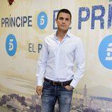 Álex González en la presentación del rodaje de la segunda temporada de 'El Príncipe'