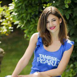 Úrsula Corberó en la nueva campaña para Tampax Pearl