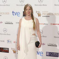 Ainhoa Santamaría en la entrega de los Premios Iris 2014