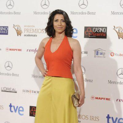 Alicia Borrachero en la entrega de los Premios Iris 2014