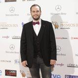 Jorge Blas en la entrega de los Premios Iris 2014