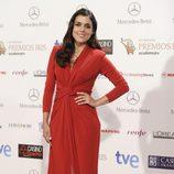 Adriana Ugarte en la entrega de los Premios Iris 2014