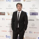 Arturo Valls en la entrega de los Premios Iris 2014