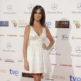 Melani Olivares en la entrega de los Premios Iris 2014