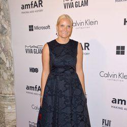 La Princesa Mette-Marit de Noruega en la Inspiration Gala 2014 de amfAR