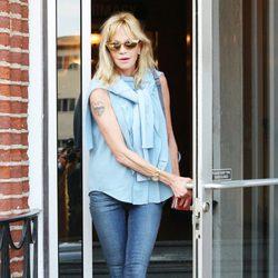 Melanie Griffith se deja ver depués de la ruptura con Antonio Banderas