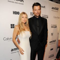 Fergie y Josh Duhamel en la Inspiration Gala 2014 de amfAR