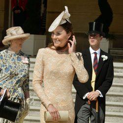Kate Middleton en una Garden Party