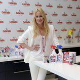 Carolina Cerezuela amadrina unos productos de limpieza