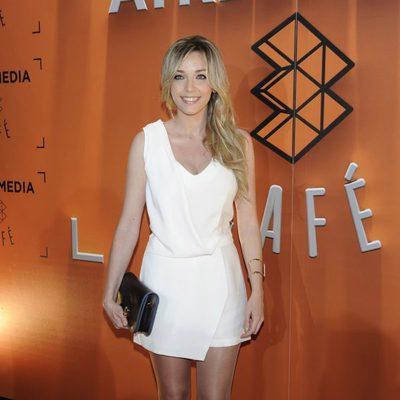 Anna Simon en la inauguración de Atresmedia Café en Madrid