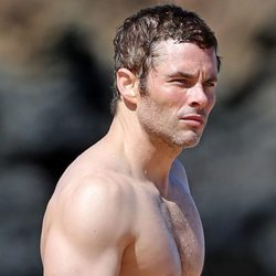 James Marsden con el torso desnudo durante unas vacaciones en Hawaii