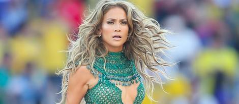 Jennifer Lopez en la inauguración del Mundial 2014