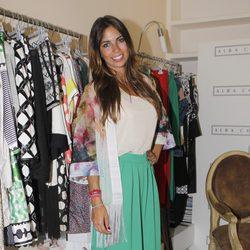 Melissa Jiménez ejerce de madrina de la colección de Alba Conde