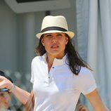 Carlota Casiraghi tras competir en un concurso hípico en Cannes