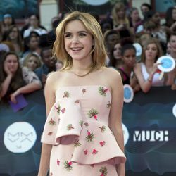 Kiernan Shipka en los Much Music Video 2014