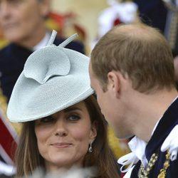 Los Duques de Cambridge en la Orden de la Jarretera 2014