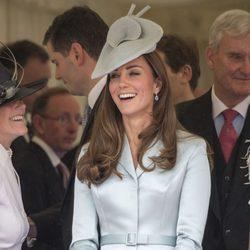Kate Middleton en la procesión de la Orden de la Jarretera 2014