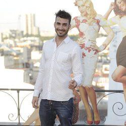Israel Rodríguez en la presentación del concierto Shangay Pride 2014