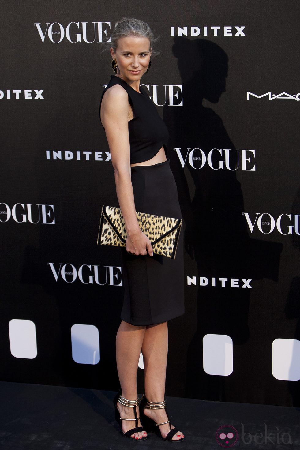 María León en la entrega del premio Vogue Who's on Next 2014