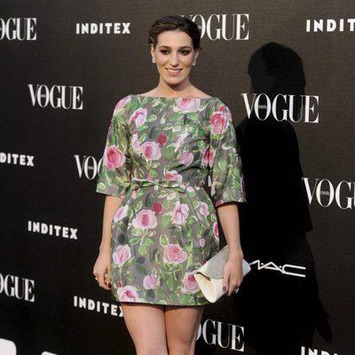 Eugenia Ortiz en la entrega del premio Vogue Who's on Next 2014