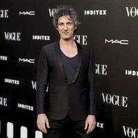 Ernesto Alterio en la entrega del premio Vogue Who's on Next 2014