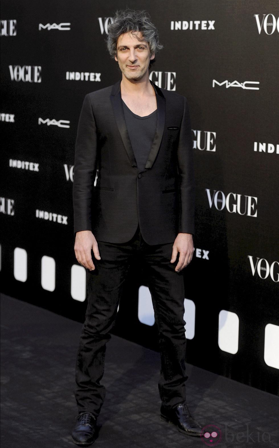Ernesto Alterio en la entrega del premio Vogue Who's on Next 2014