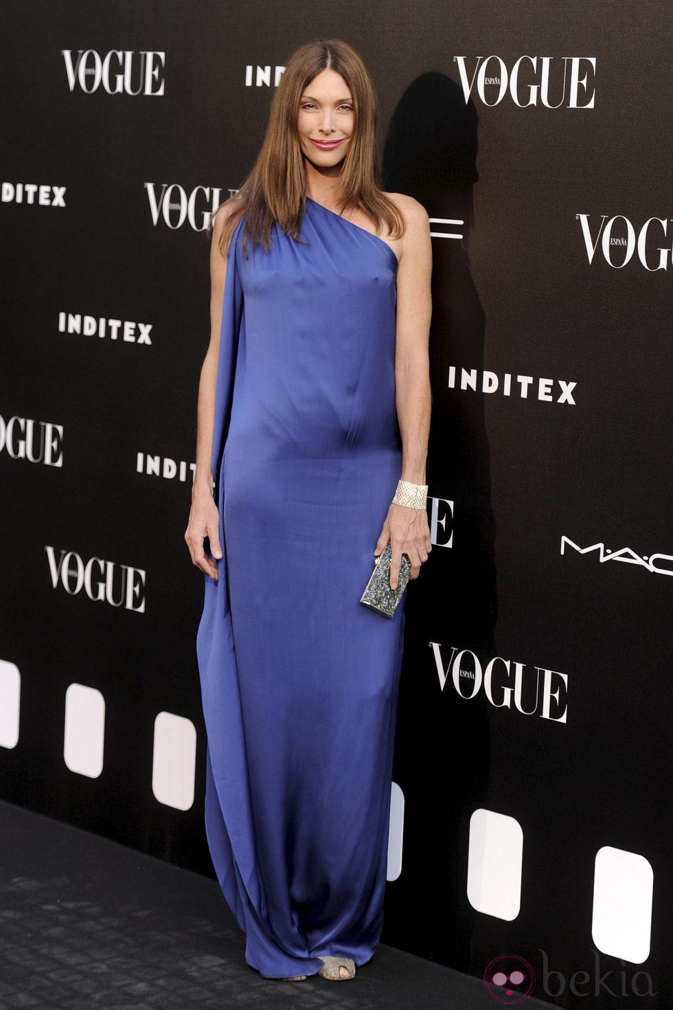 Cristina Piaget en la entrega del premio Vogue Who's on Next 2014