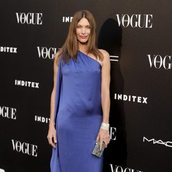 Cristina Piaget en la entrega del premio Vogue Who's on Next 2014