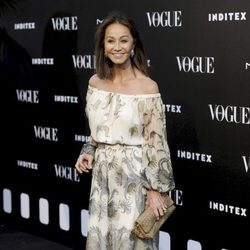 Isabel Preysler en la entrega del premio Vogue Who's on Next 2014