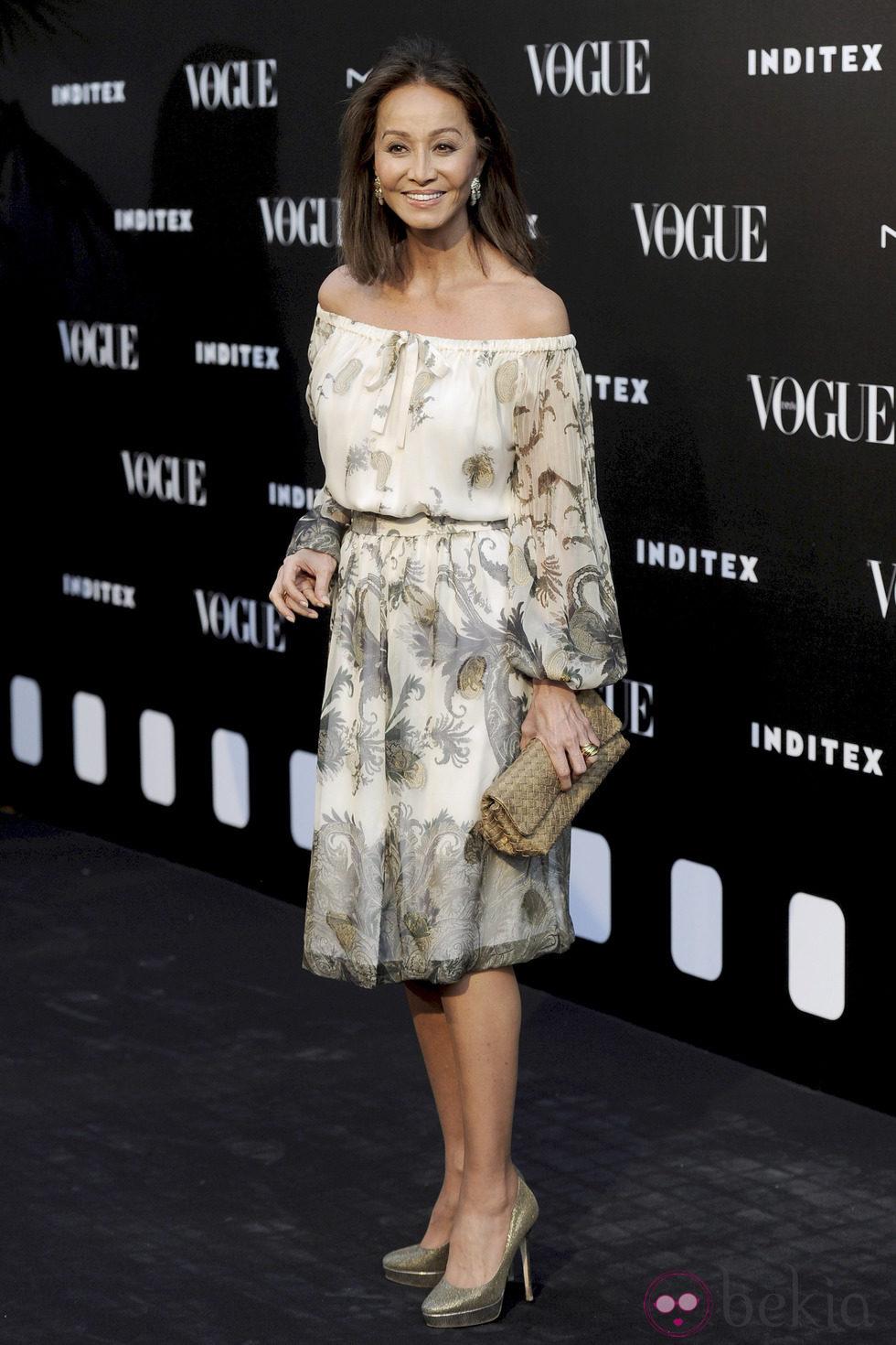 Isabel Preysler en la entrega del premio Vogue Who's on Next 2014