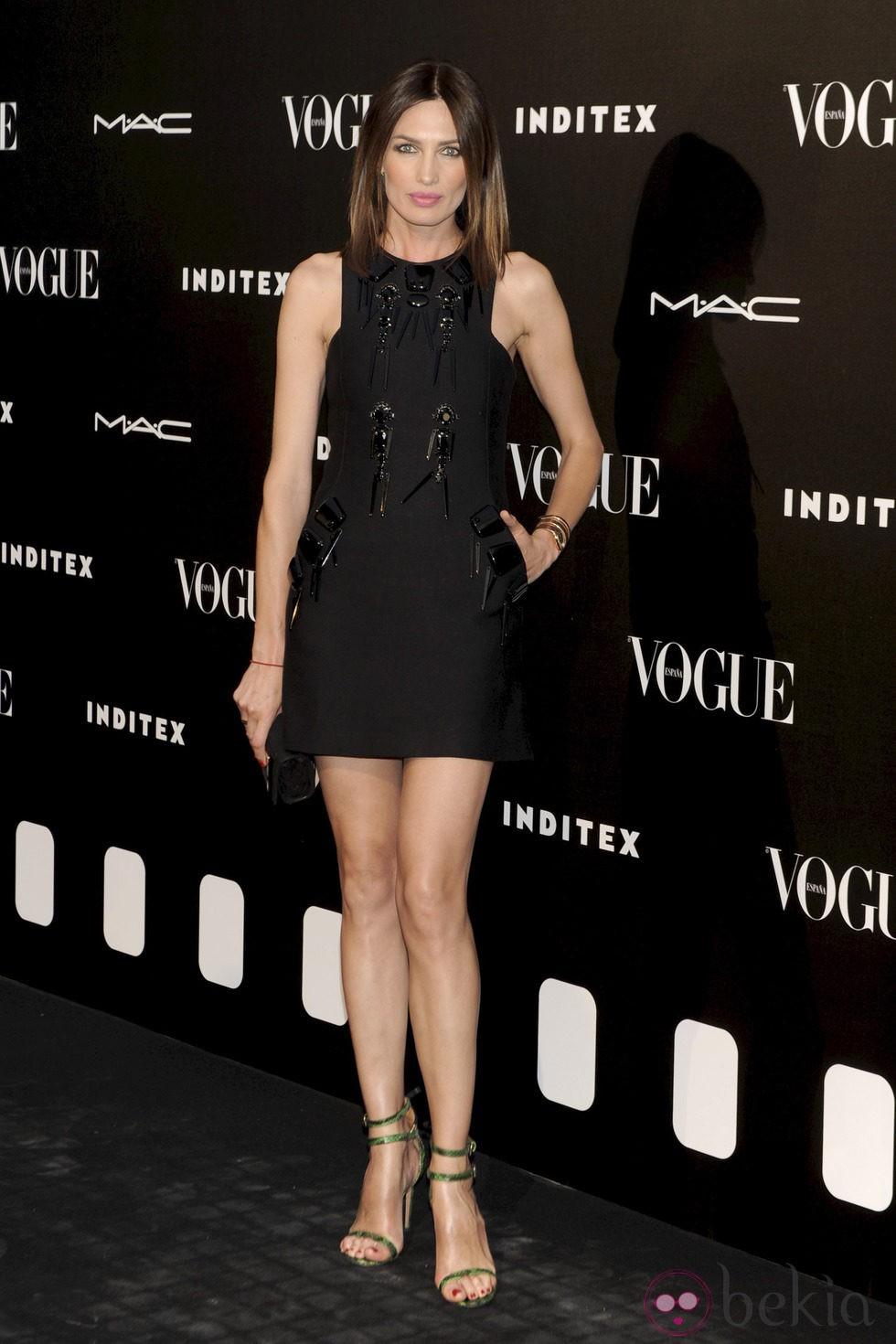 Nieves Álvarez en la entrega del premio Vogue Who's on Next 2014
